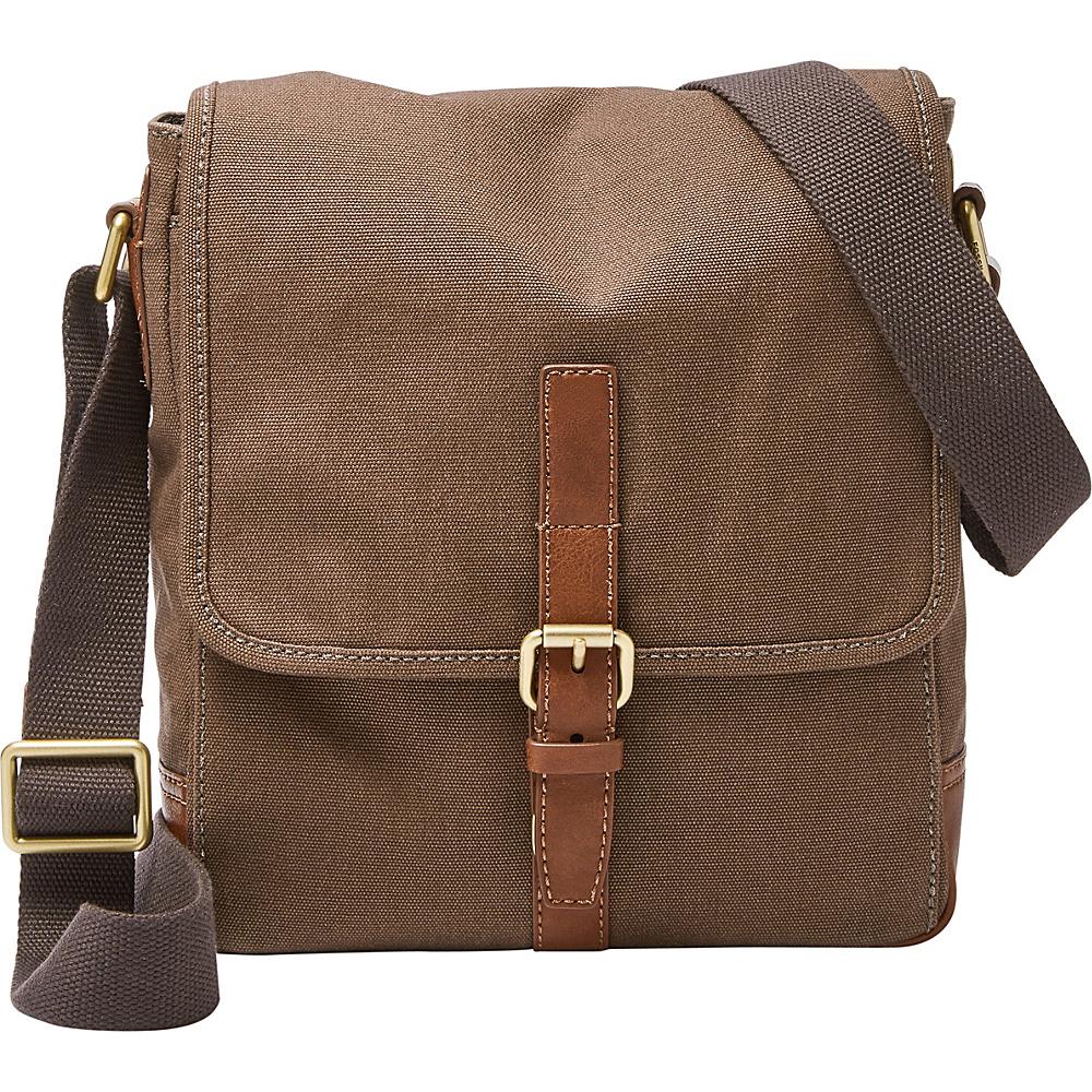 Fossil Davis NS City Messenger Brown - Fossil Designer Handbags - Handbags, Designer Handbags