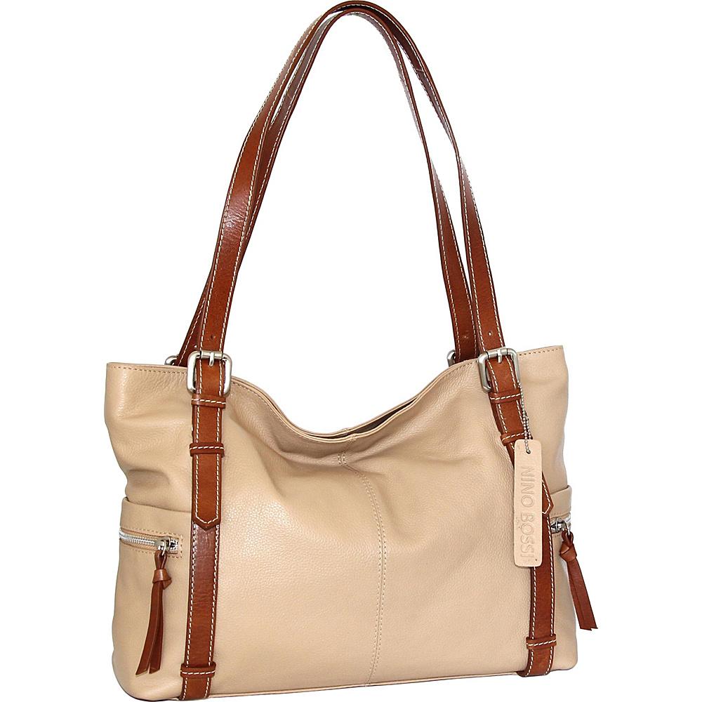 Nino Bossi Tias Tote Sand - Nino Bossi Leather Handbags - Handbags, Leather Handbags