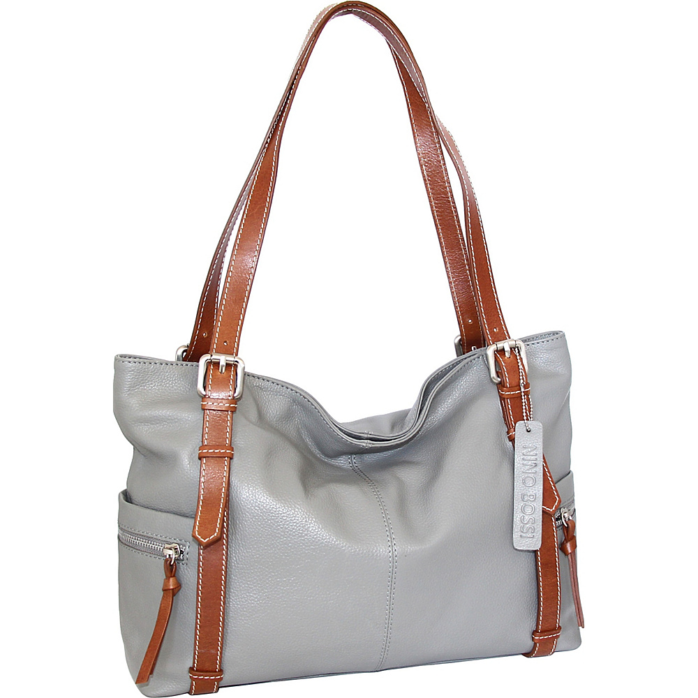 Nino Bossi Tias Tote Stone - Nino Bossi Leather Handbags - Handbags, Leather Handbags