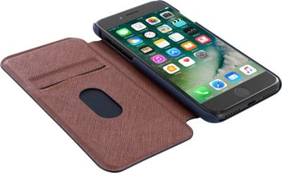 Ted Baker iPhone 6 & 7 Card Slot Folio Case Boatsee Navy - Ted Baker Electronic Cases