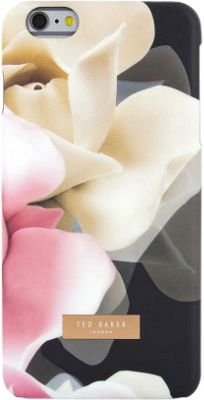 Ted Baker AW16 iPhone 6 & 7 Plus Hard Shell Case Annotei Porcelain Rose Black - Ted Baker Electronic Cases