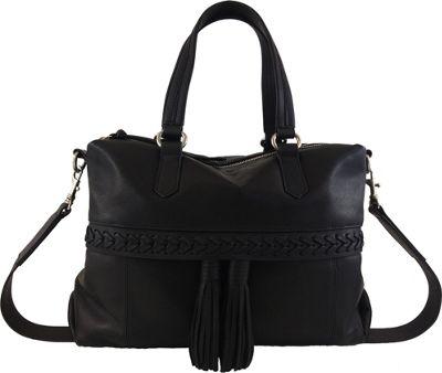 Joelle Hawkens by treesje Daphne Duffel Black - Joelle Hawkens by treesje Leather Handbags