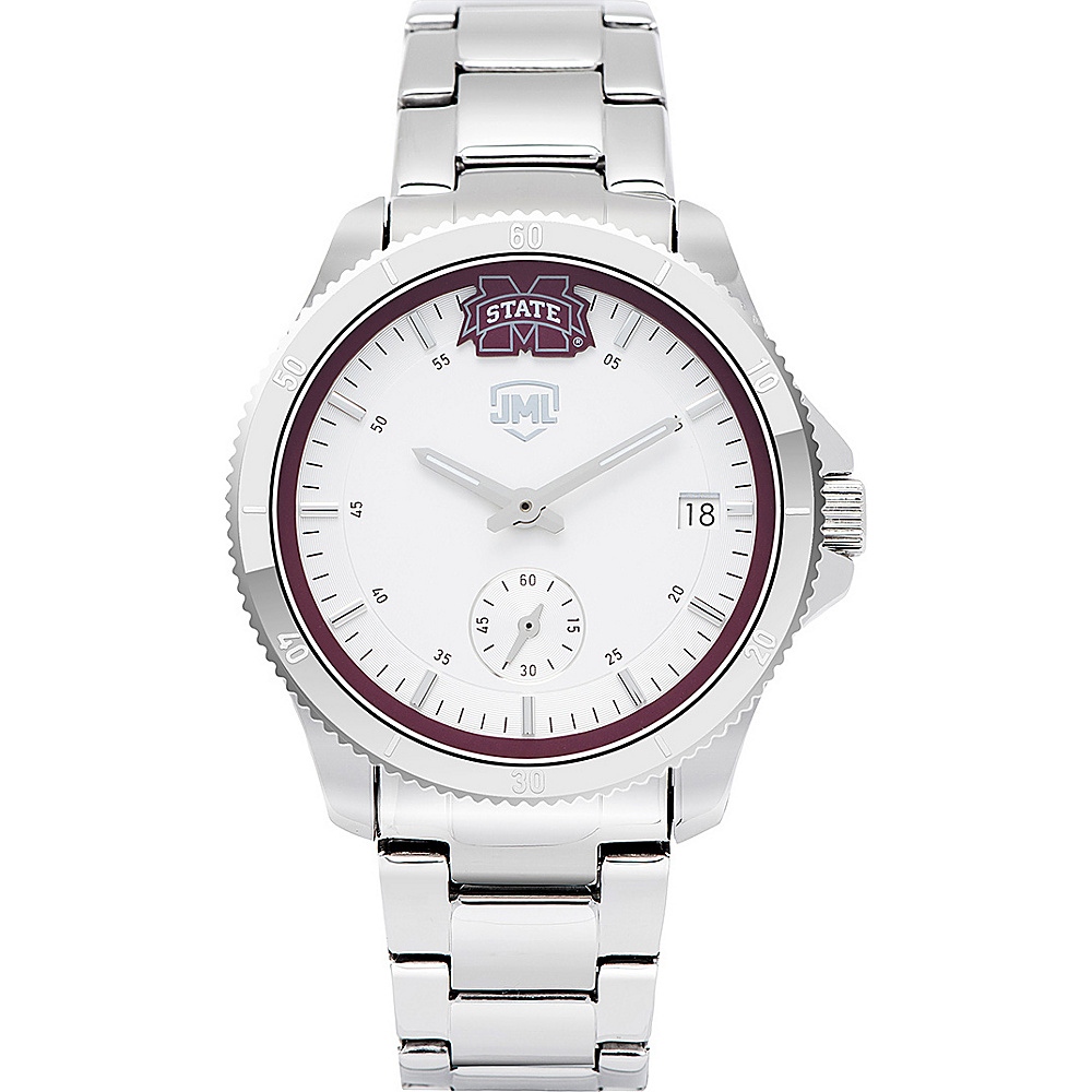 Jack Mason League Womens NCAA Silver Sport Watch Mississippi State - Jack Mason League Watches - Fashion Accessories, Watches