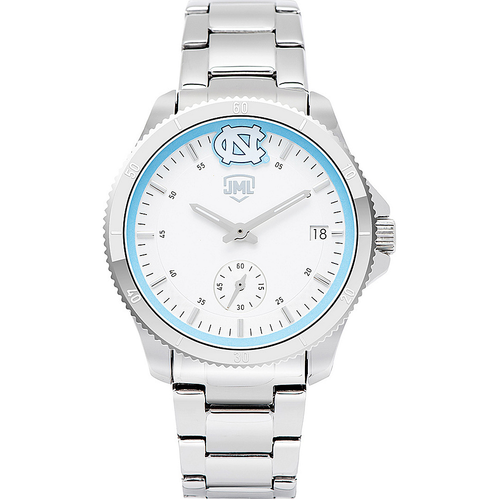 Jack Mason League Womens NCAA Silver Sport Watch North Carolina - Jack Mason League Watches - Fashion Accessories, Watches