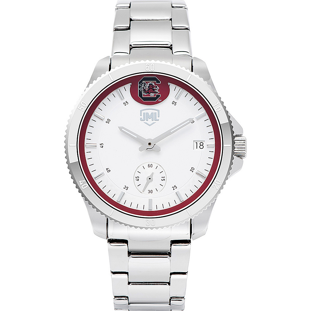 Jack Mason League Womens NCAA Silver Sport Watch South Carolina - Jack Mason League Watches - Fashion Accessories, Watches