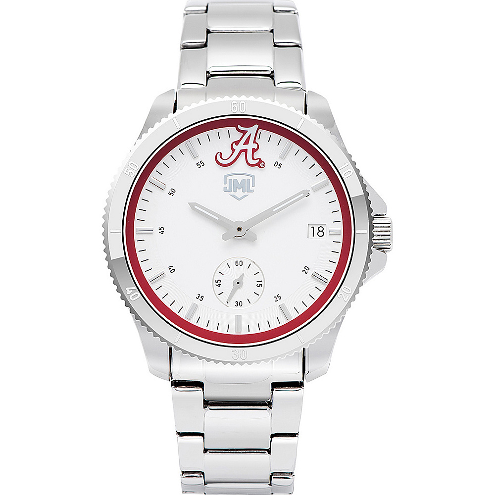 Jack Mason League Womens NCAA Silver Sport Watch Alabama - Jack Mason League Watches - Fashion Accessories, Watches