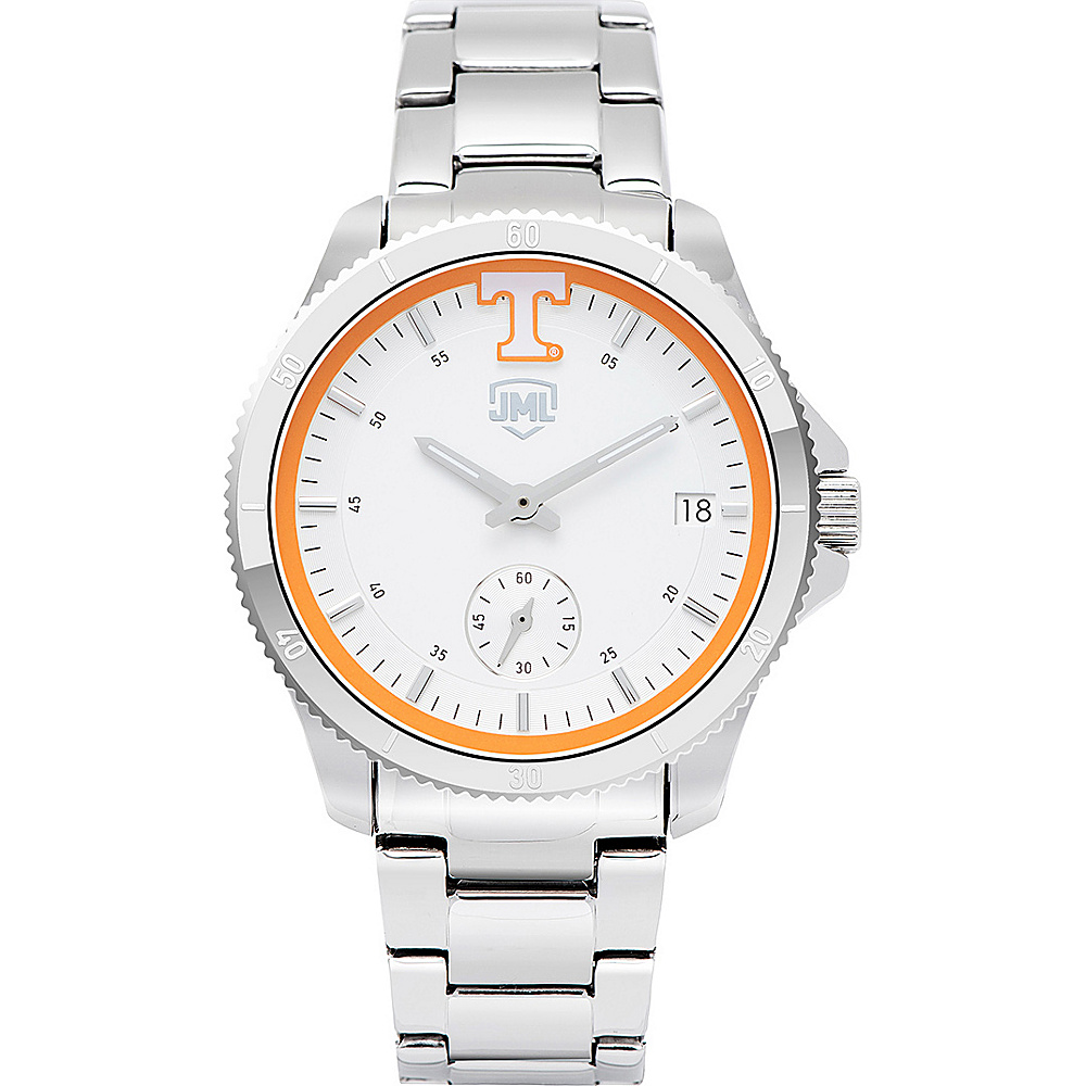 Jack Mason League Womens NCAA Silver Sport Watch Tennessee - Jack Mason League Watches - Fashion Accessories, Watches