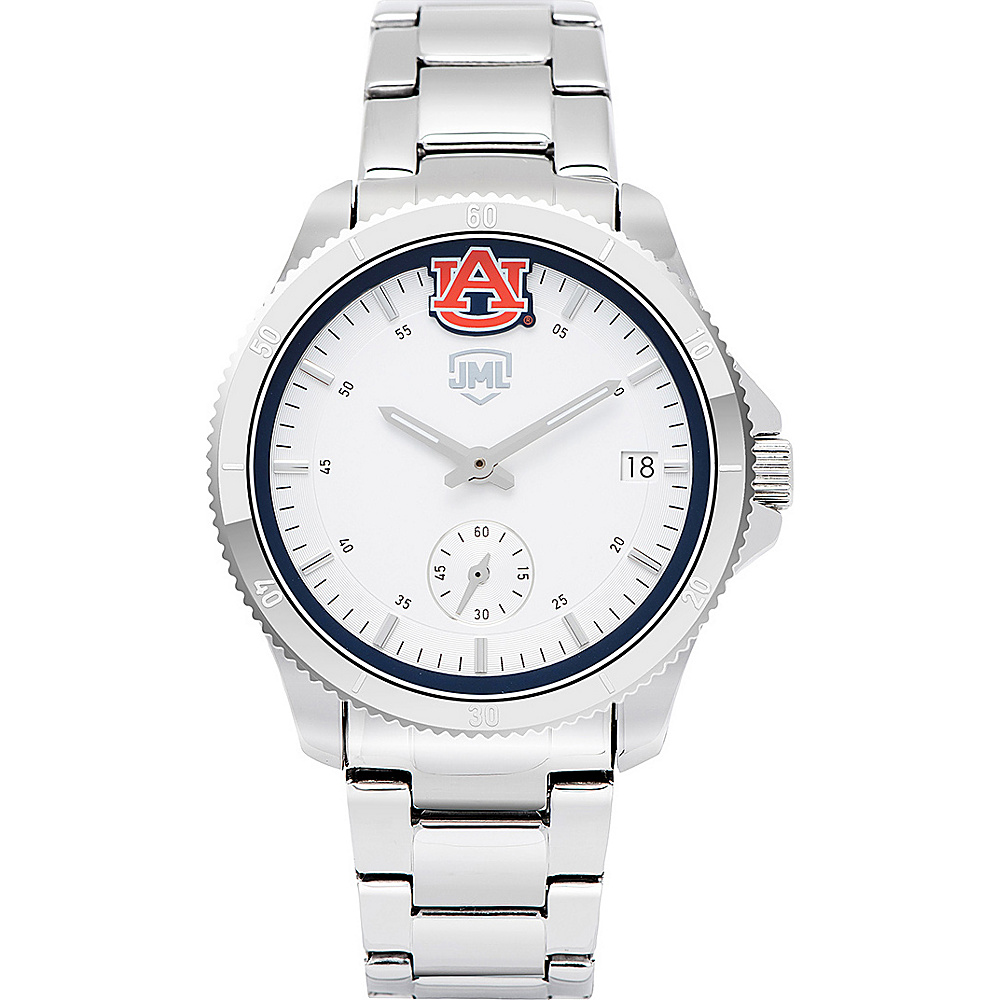Jack Mason League Womens NCAA Silver Sport Watch Auburn - Jack Mason League Watches - Fashion Accessories, Watches