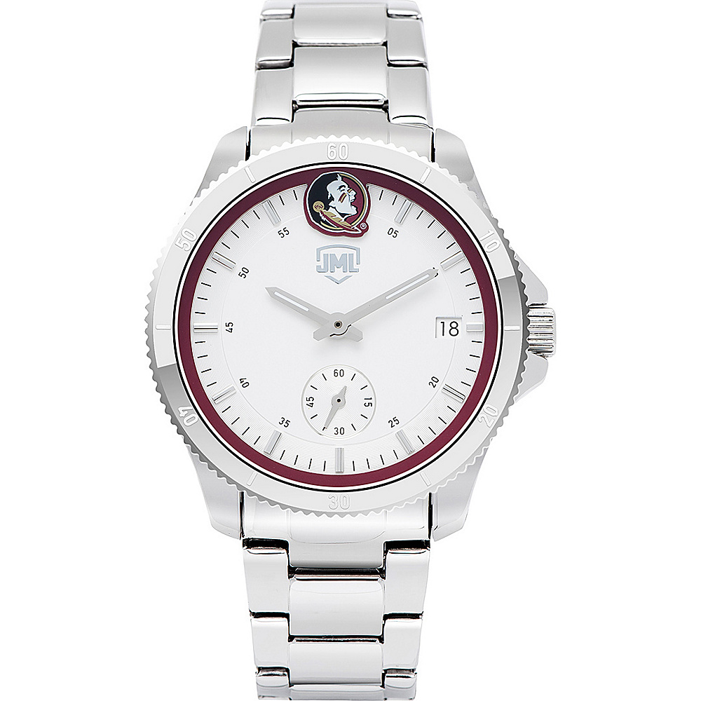 Jack Mason League Womens NCAA Silver Sport Watch Florida State - Jack Mason League Watches - Fashion Accessories, Watches
