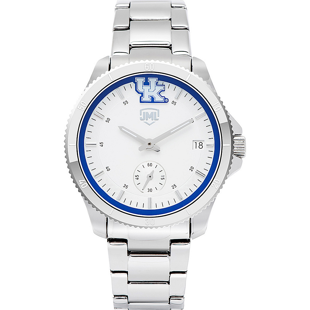 Jack Mason League Womens NCAA Silver Sport Watch Kentucky - Jack Mason League Watches - Fashion Accessories, Watches