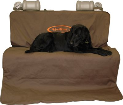 Mud River Two Barrel Double Seat Cover - Extra Large Brown - Mud River Trunk and Transport Organization