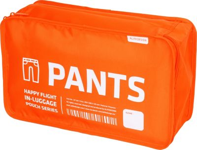 ALIFE DESIGN Luggage Pants Packing Cube Organizer Orange - ALIFE DESIGN Lightweight Packable Expandable Bags
