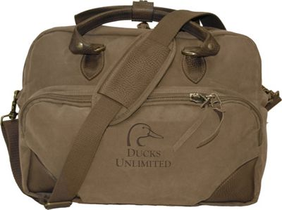 Ducks Unlimited Shoulder Laptop Briefcase Taupe - Ducks Unlimited Non-Wheeled Business Cases