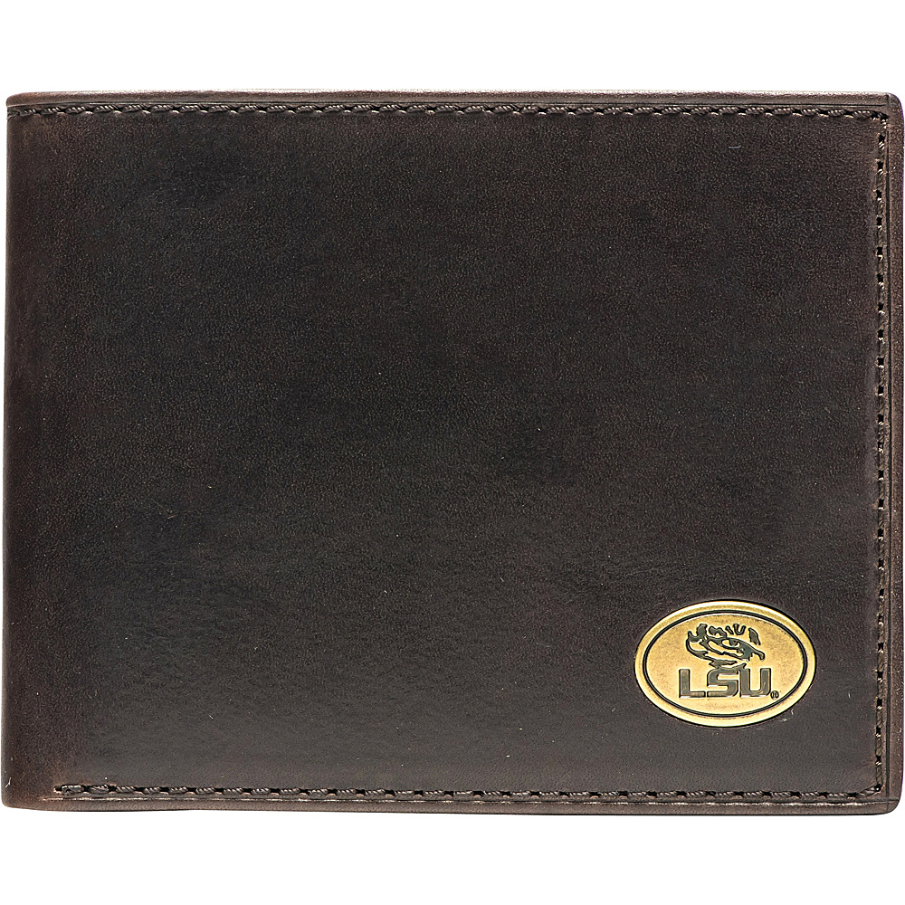 Jack Mason League NCAA Legacy Traveler Bifold Wallet LSU - Jack Mason League Mens Wallets - Work Bags & Briefcases, Men's Wallets