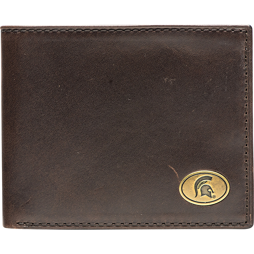 Jack Mason League NCAA Legacy Traveler Bifold Wallet Michigan State - Jack Mason League Mens Wallets - Work Bags & Briefcases, Men's Wallets