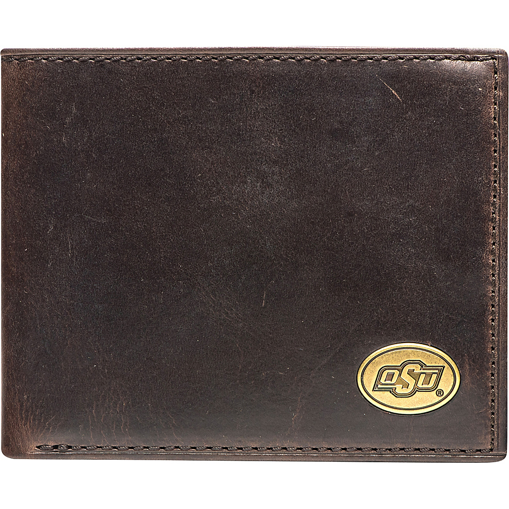 Jack Mason League NCAA Legacy Traveler Bifold Wallet Oklahoma State - Jack Mason League Mens Wallets - Work Bags & Briefcases, Men's Wallets