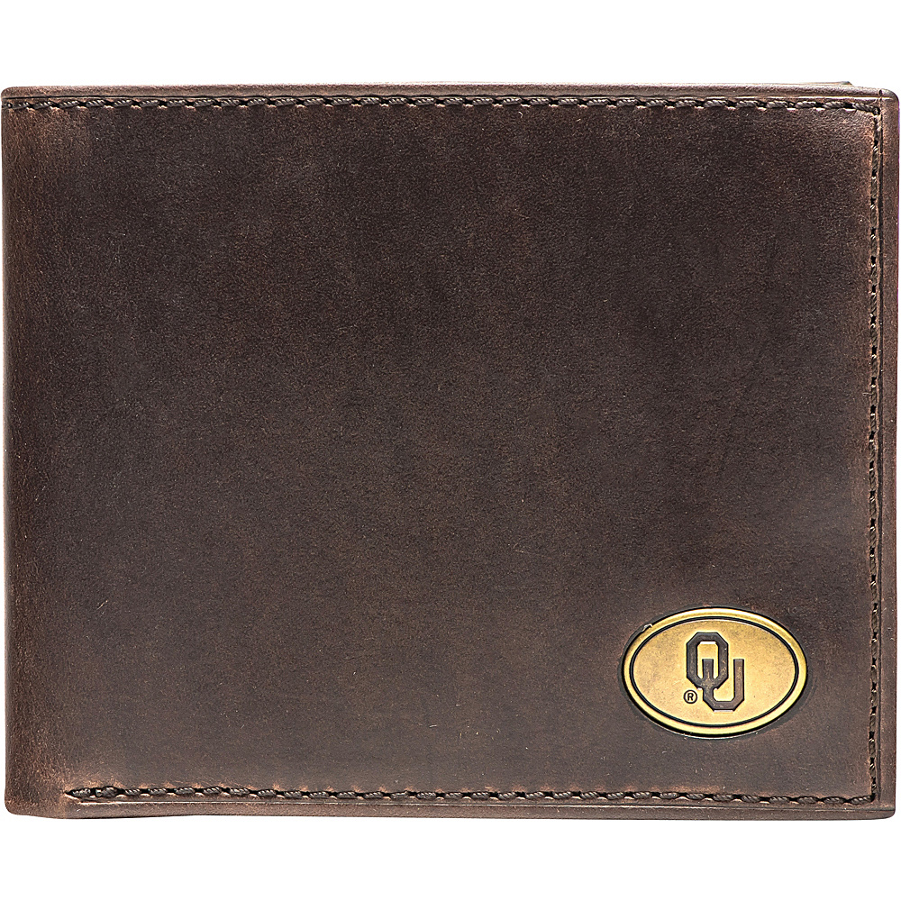 Jack Mason League NCAA Legacy Traveler Bifold Wallet Oklahoma - Jack Mason League Mens Wallets - Work Bags & Briefcases, Men's Wallets