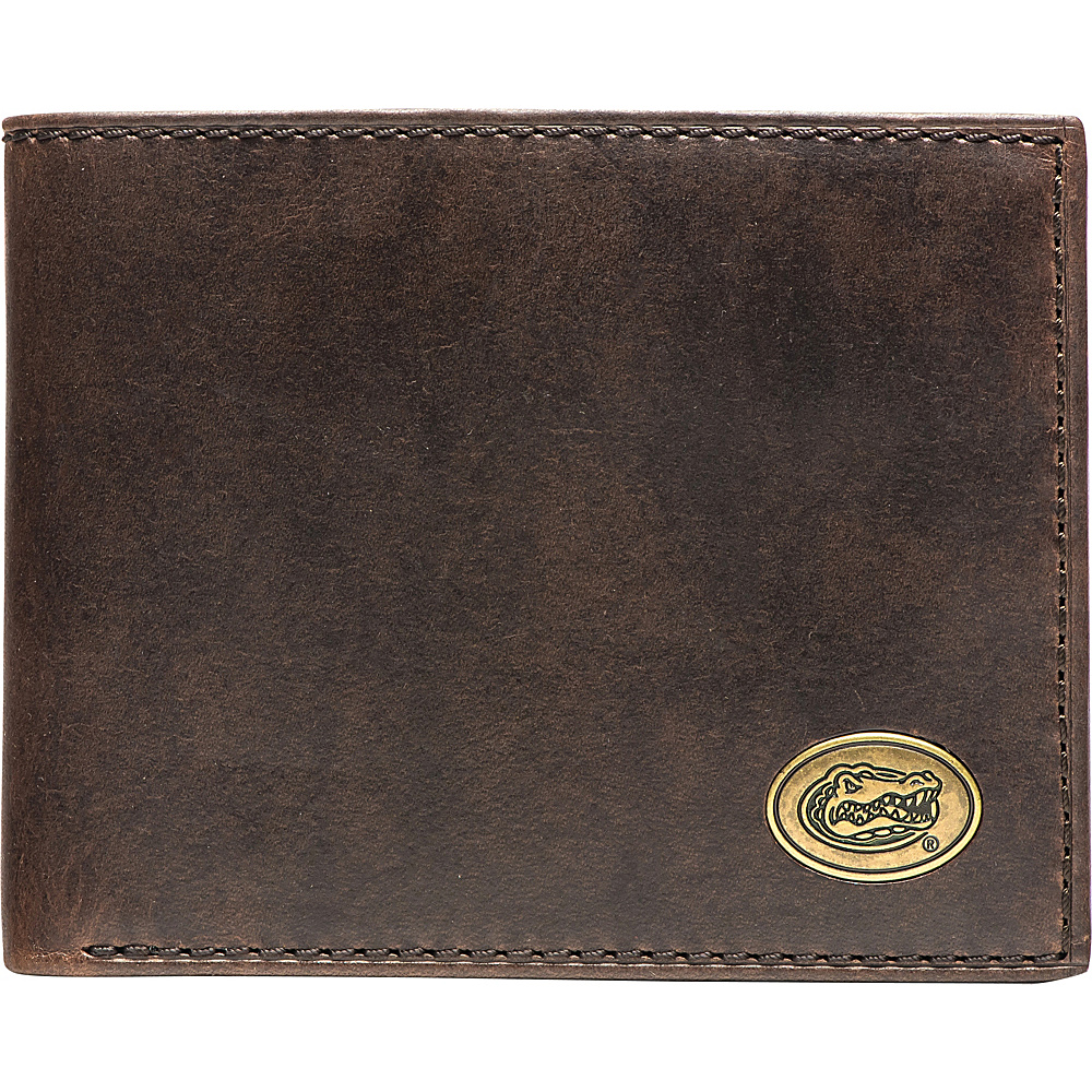 Jack Mason League NCAA Legacy Traveler Bifold Wallet Florida - Jack Mason League Mens Wallets - Work Bags & Briefcases, Men's Wallets