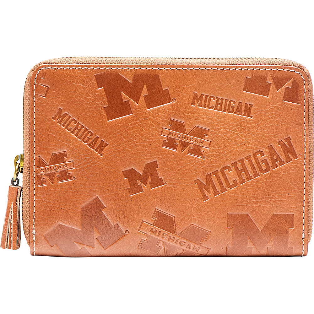 Jack Mason League NCAA Sideline Wristlet Michigan Wolverines - Jack Mason League Leather Handbags - Handbags, Leather Handbags