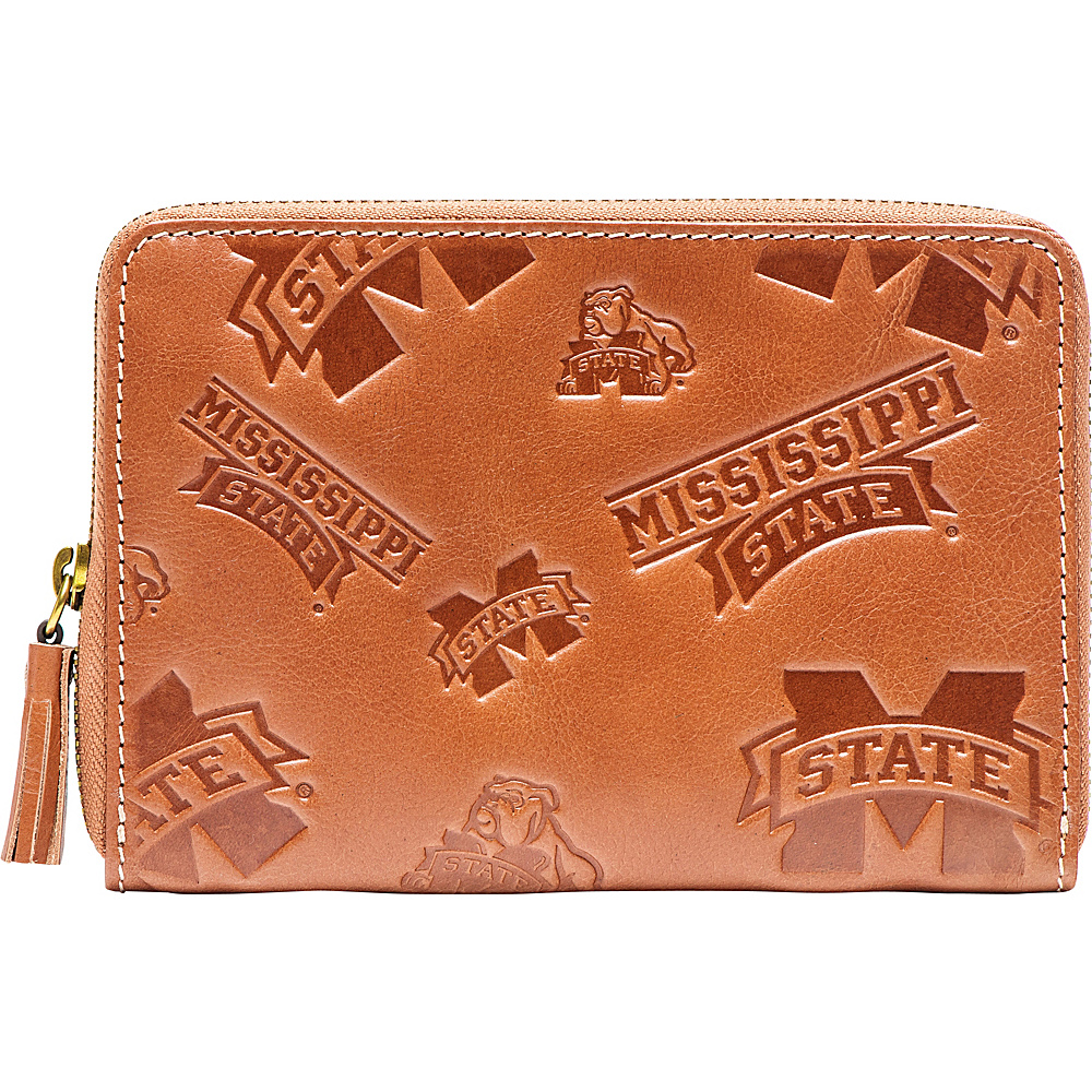 Jack Mason League NCAA Sideline Wristlet Mississippi State Bulldogs - Jack Mason League Leather Handbags - Handbags, Leather Handbags