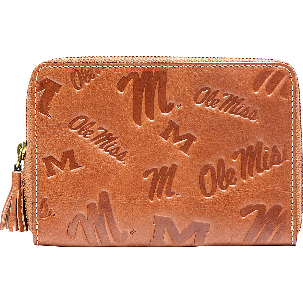 Jack Mason League NCAA Sideline Wristlet Ole Miss Rebels - Jack Mason League Leather Handbags - Handbags, Leather Handbags