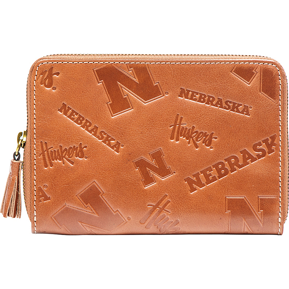 Jack Mason League NCAA Sideline Wristlet Nebraska Cornhuskers - Jack Mason League Leather Handbags - Handbags, Leather Handbags