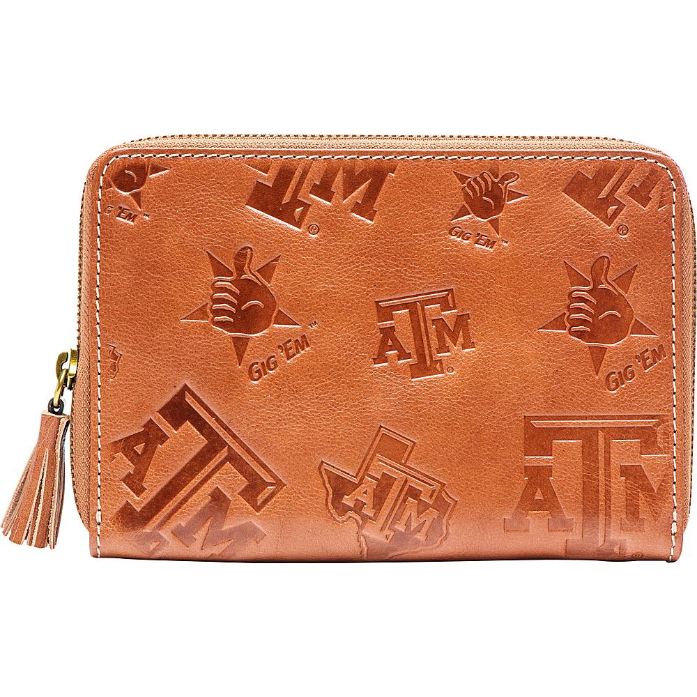 Jack Mason League NCAA Sideline Wristlet Texas A&M - Jack Mason League Leather Handbags - Handbags, Leather Handbags