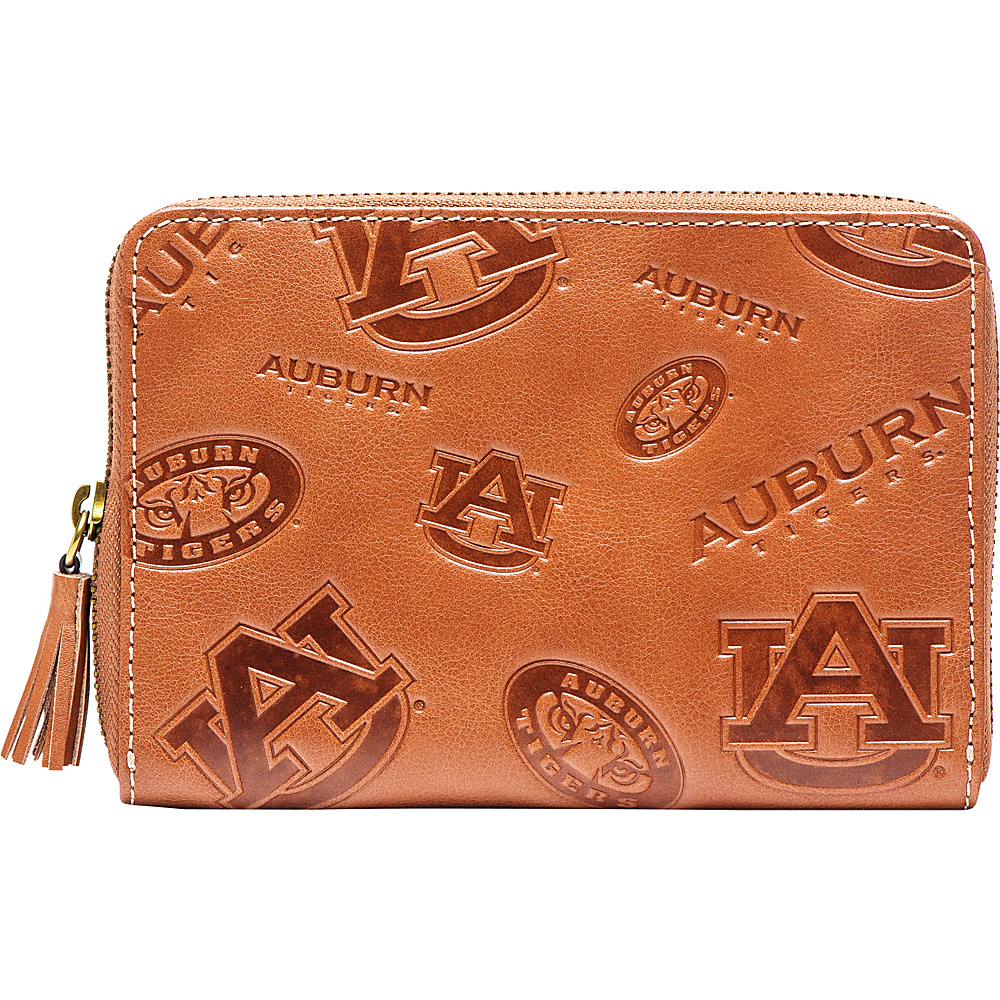 Jack Mason League NCAA Sideline Wristlet Auburn - Jack Mason League Leather Handbags - Handbags, Leather Handbags