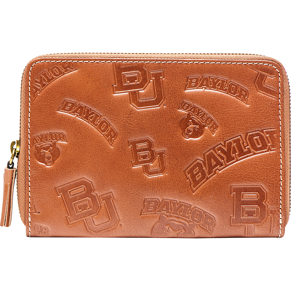 Jack Mason League NCAA Sideline Wristlet Baylor Bears - Jack Mason League Leather Handbags - Handbags, Leather Handbags
