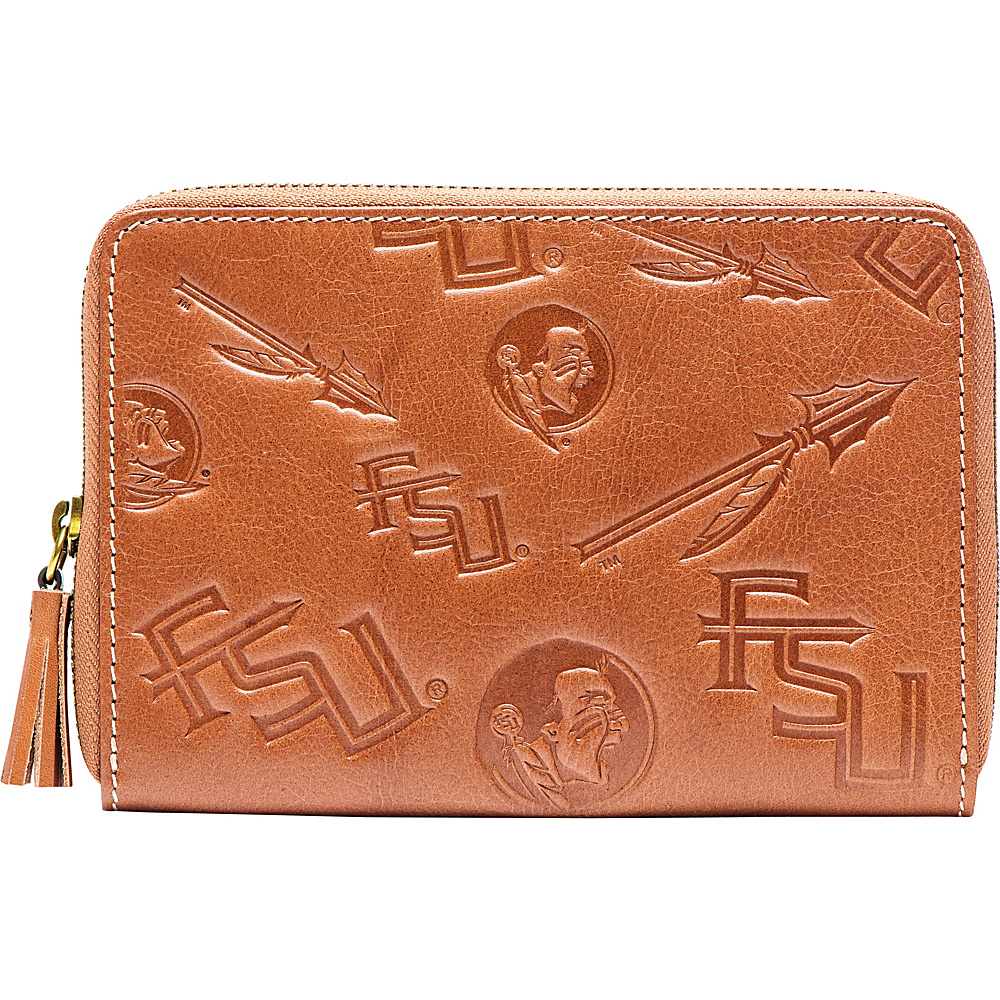 Jack Mason League NCAA Sideline Wristlet Florida State - Jack Mason League Leather Handbags - Handbags, Leather Handbags