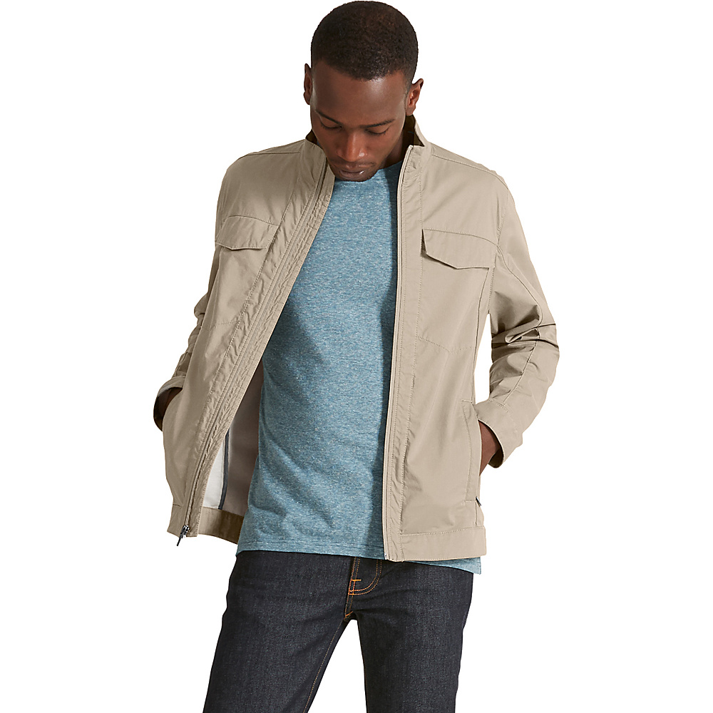 NAU Clothing Mens Introvert Work Jacket XS - Khaki - NAU Clothing Mens Apparel - Apparel & Footwear, Men's Apparel