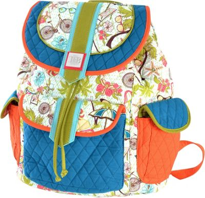 Inky & Bozko Beachy Keen Boho Backpack Beachy Keen - Inky & Bozko Fabric Handbags