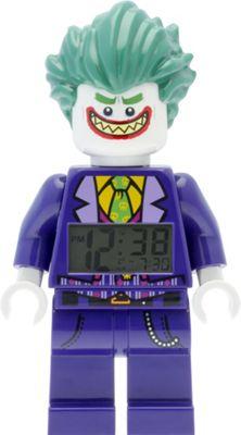 LEGO Watches Batman Movie The Joker Minifigure Light Up Alarm Clock Purple - LEGO Watches Travel Electronics