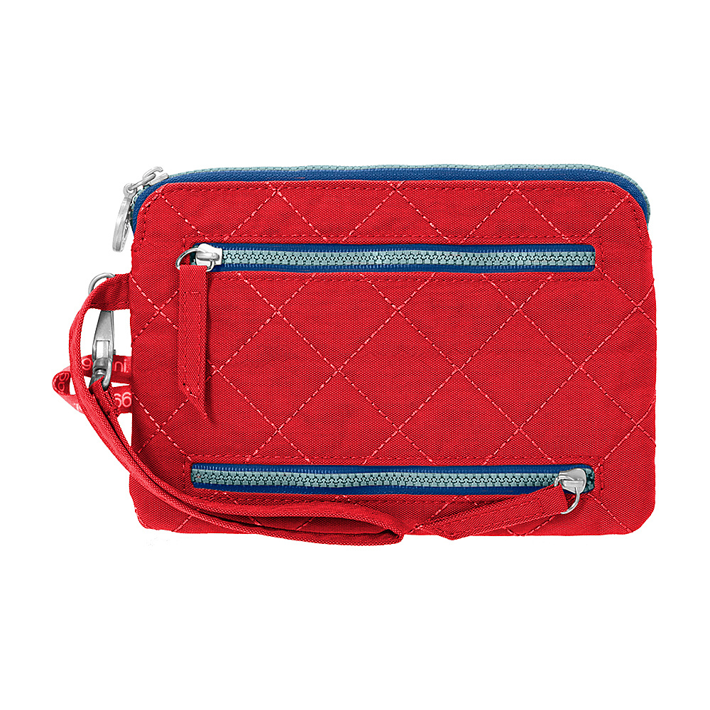 baggallini RFID Currency & Passport Organizer Red/Navy - baggallini Travel Wallets - Travel Accessories, Travel Wallets