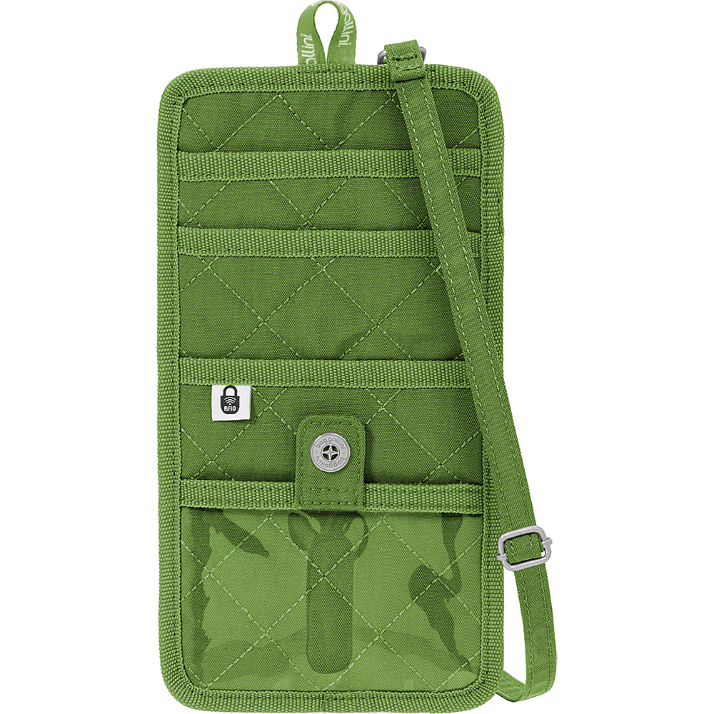 baggallini RFID Travel Organizer Green/Kiwi - baggallini Travel Wallets - Travel Accessories, Travel Wallets