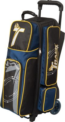 Track Premium Player Triple Bowling Roller Navy - Track Bowling Bags