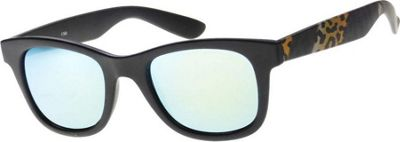 SW Global Wild Safari Retro Square Frame UV400 Sunglasses Blue - SW Global Eyewear
