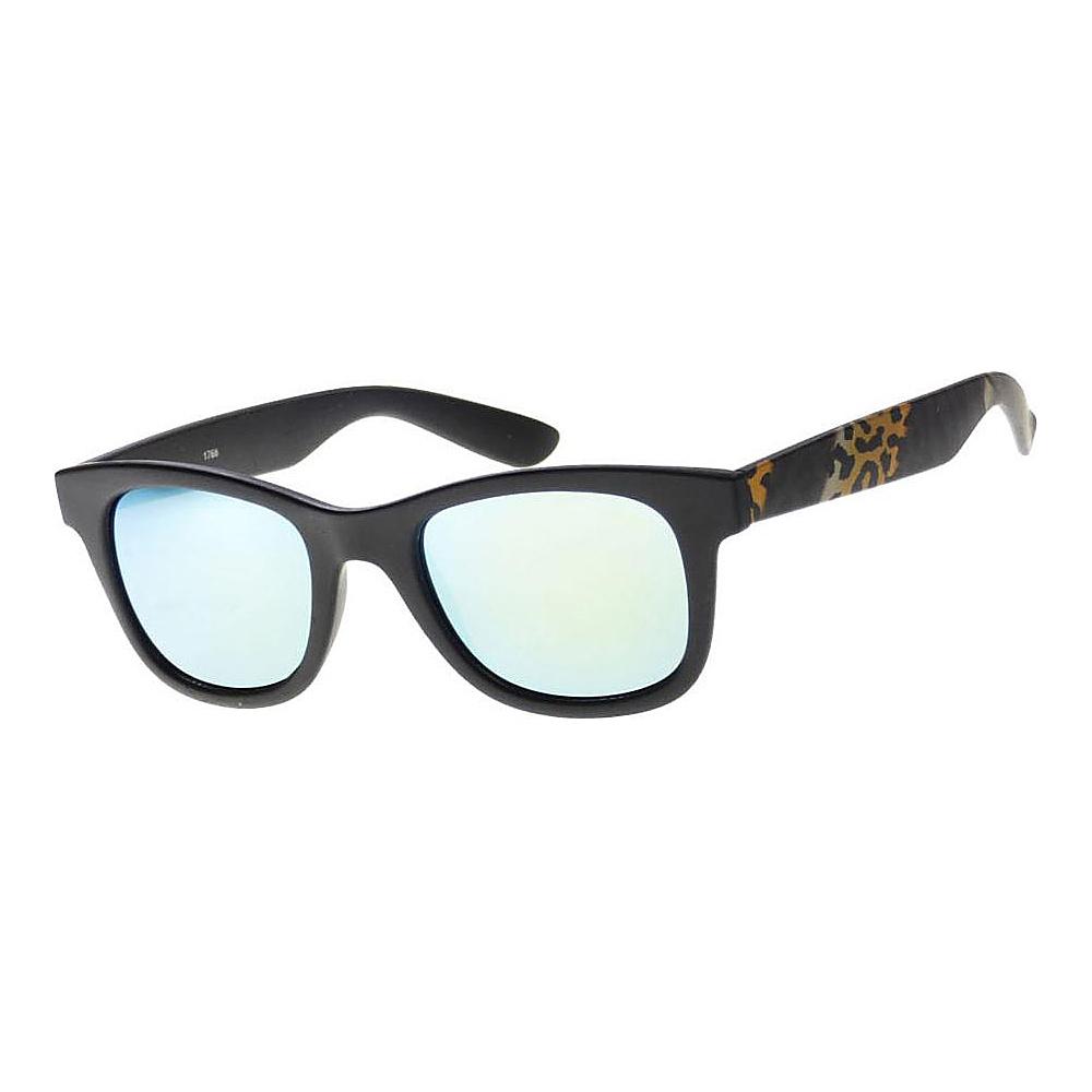 SW Global Wild Safari Retro Square Frame UV400 Sunglasses Blue - SW Global Eyewear - Fashion Accessories, Eyewear