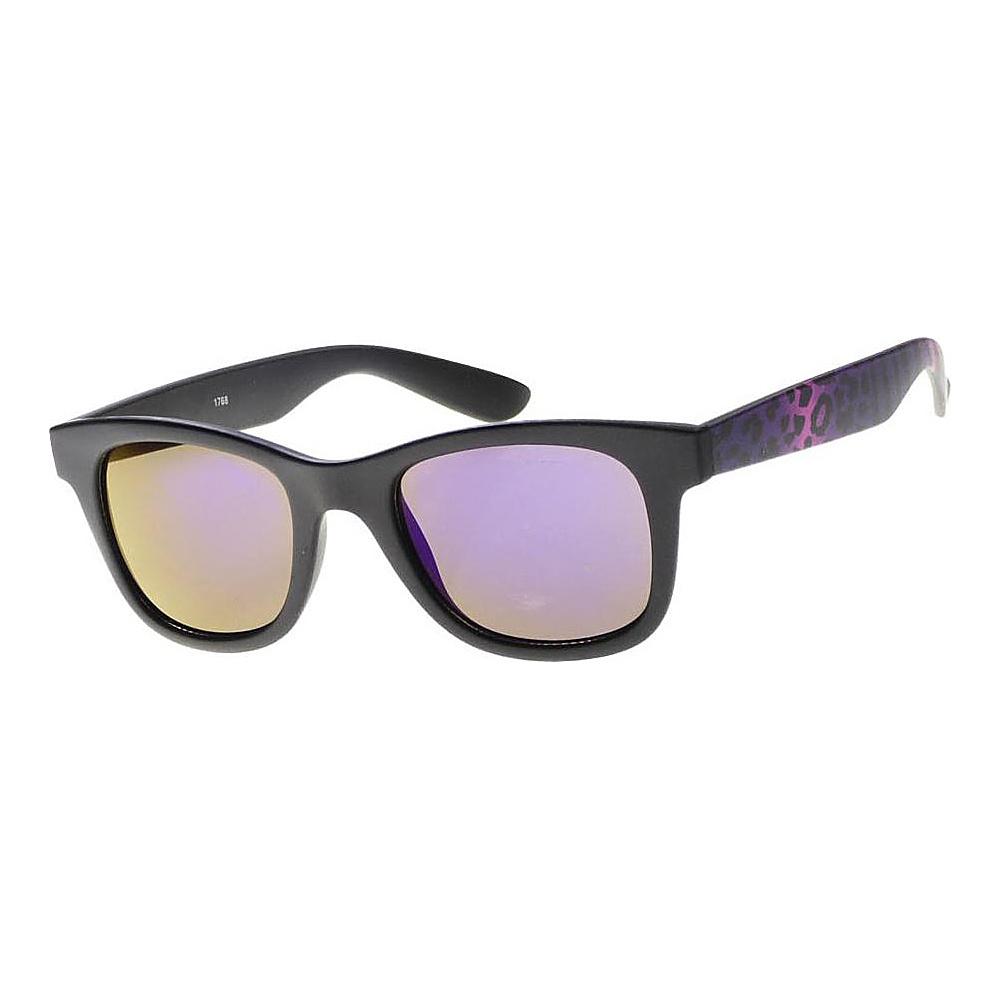 SW Global Wild Safari Retro Square Frame UV400 Sunglasses Purple - SW Global Eyewear - Fashion Accessories, Eyewear