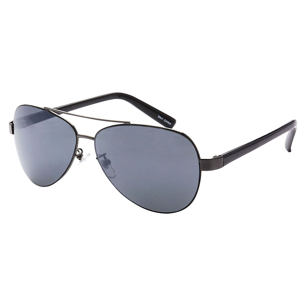 SW Global Ultra Light Weight Sport Aviator UV400 Sunglasses Black Black - SW Global Eyewear - Fashion Accessories, Eyewear