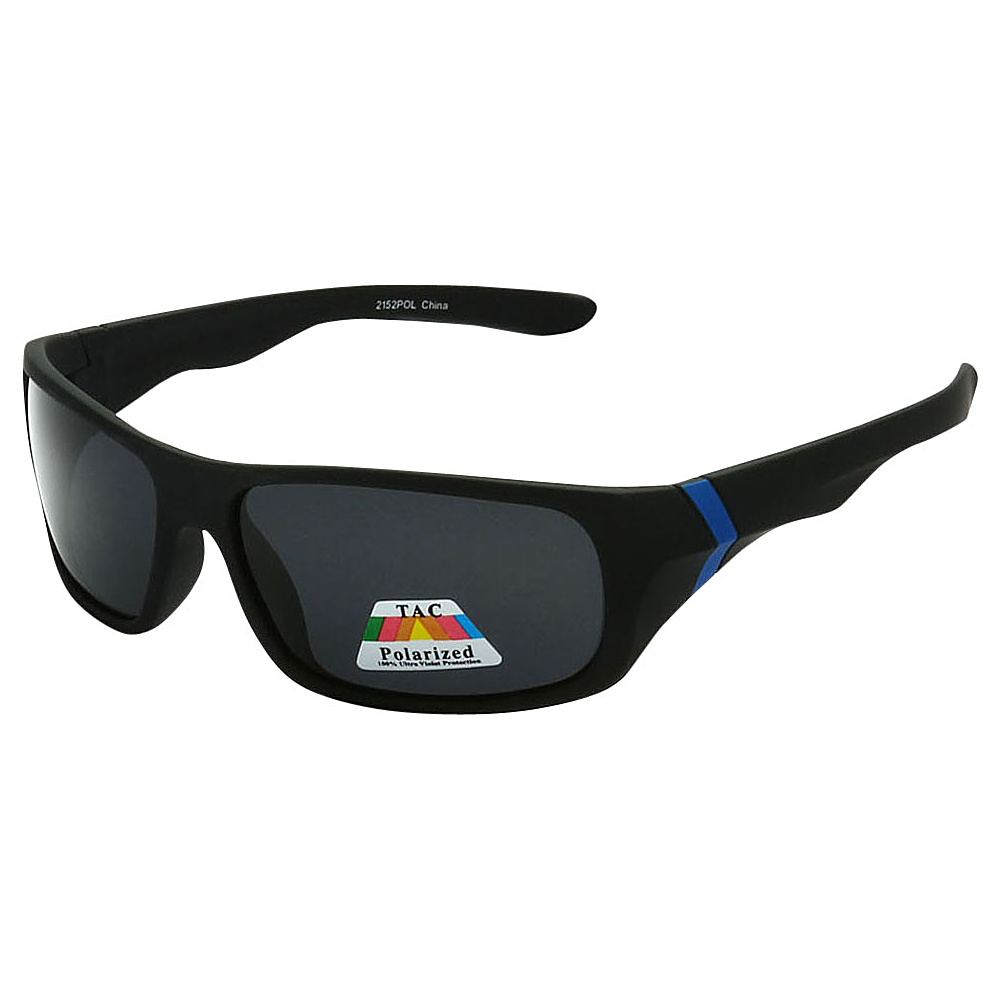 SW Global Polarized Wrap Around Full Frame Sunglasses Blue - SW Global Eyewear - Fashion Accessories, Eyewear