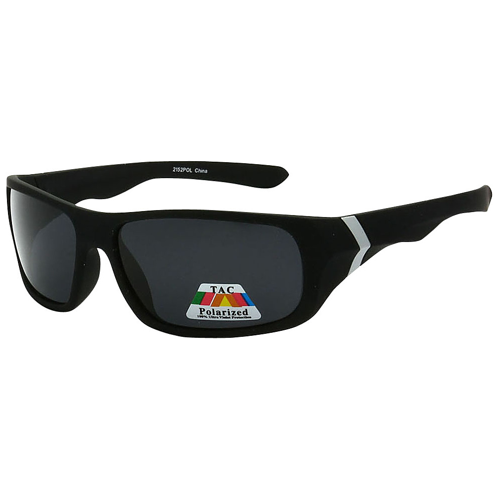 SW Global Polarized Wrap Around Full Frame Sunglasses White - SW Global Eyewear - Fashion Accessories, Eyewear