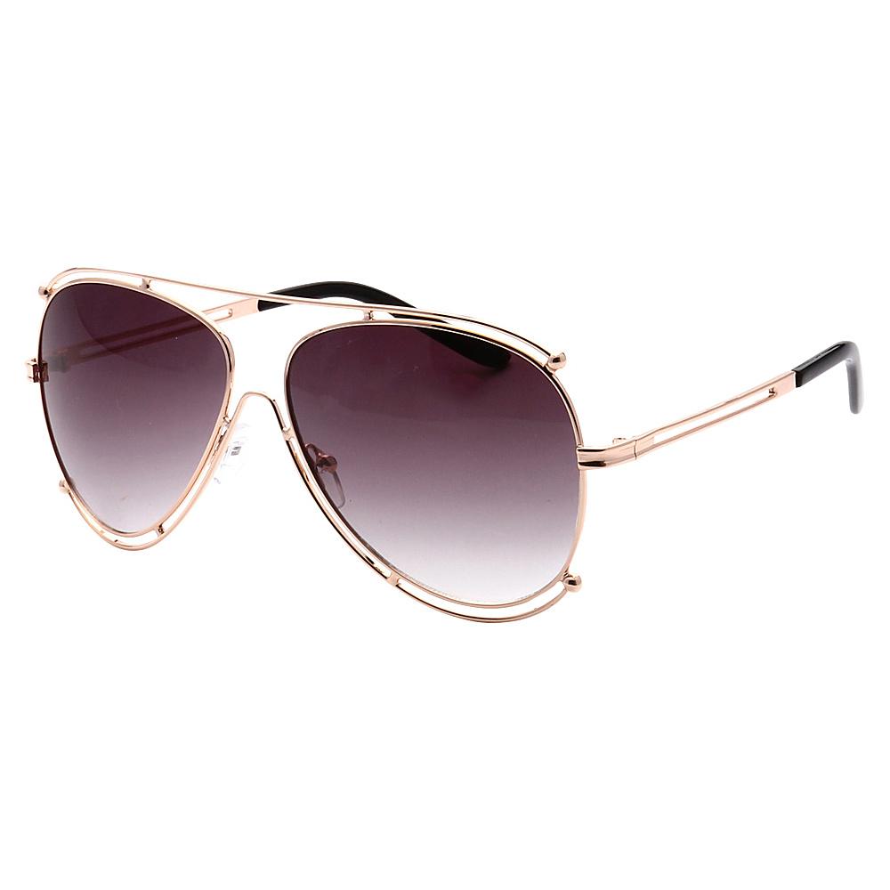 SW Global Full Metal Frame Fashion Aviator Sunglasses Gold Gradient - SW Global Eyewear - Fashion Accessories, Eyewear