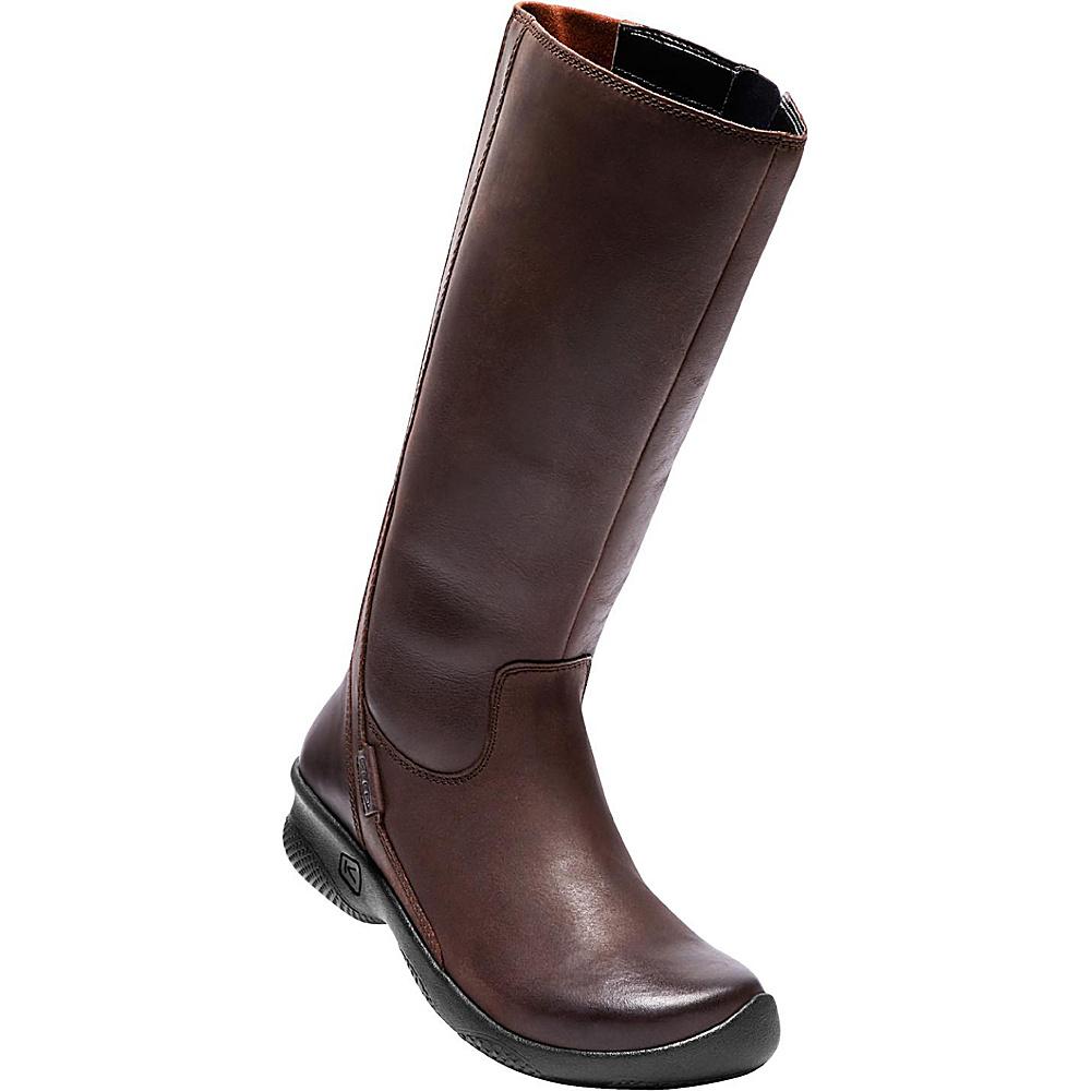 KEEN Womens Bern Baby Bern II Tall Boot W (Wide) - Mocha - KEEN Womens Footwear - Apparel & Footwear, Women's Footwear