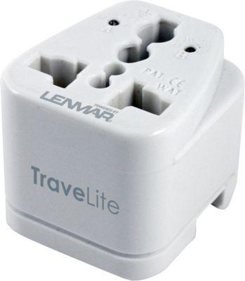Lenmar Travelite Travel Adapter White - Lenmar Electronic Accessories