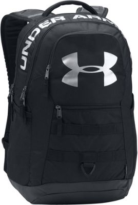 Under Armour Big Logo 5.0 Laptop Backpack Black/Black/Silver - Under Armour Laptop Backpacks