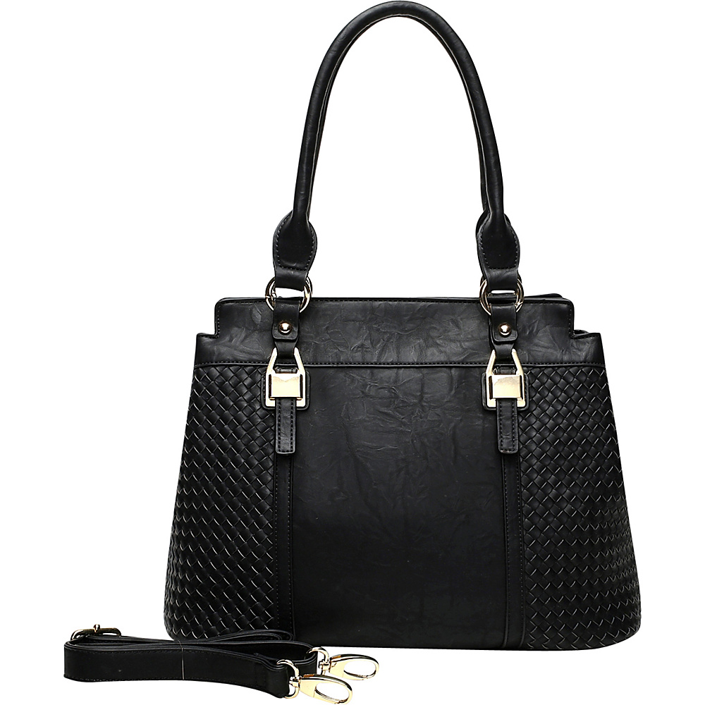 MKF Collection by Mia K. Farrow Aries Tote Black - MKF Collection by Mia K. Farrow Manmade Handbags - Handbags, Manmade Handbags