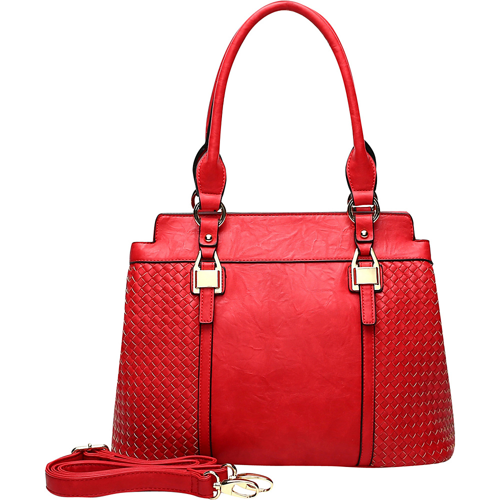 MKF Collection by Mia K. Farrow Aries Tote Red - MKF Collection by Mia K. Farrow Manmade Handbags - Handbags, Manmade Handbags