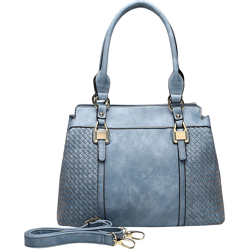 MKF Collection by Mia K. Farrow Aries Tote Blue - MKF Collection by Mia K. Farrow Manmade Handbags - Handbags, Manmade Handbags