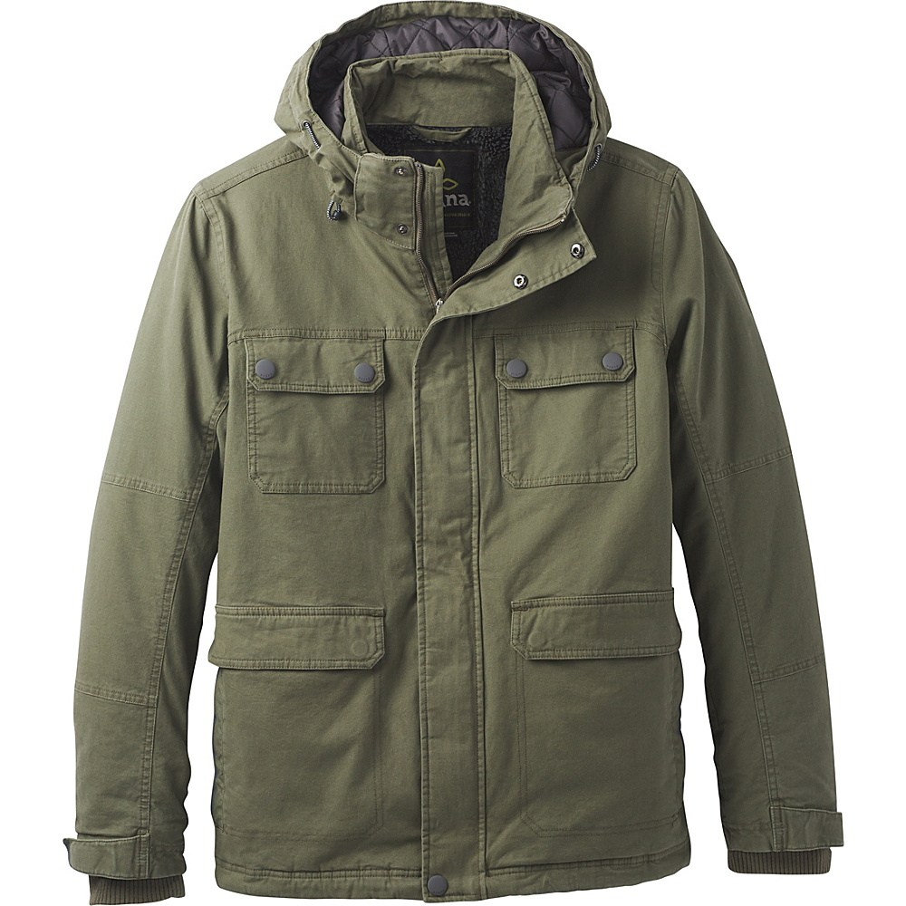 PrAna Bronson Towne Jacket L - Cargo Green - PrAna Mens Apparel - Apparel & Footwear, Men's Apparel